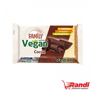 Вафла с какао Family Vegan 50гр.