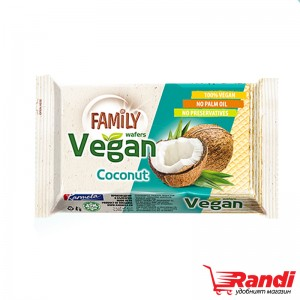 Вафла с кокос Family Vegan 50гр.