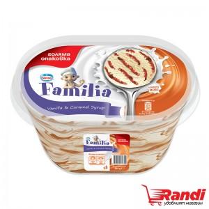 Сладолед Familia ванилия с карамел Нестле 505гр.