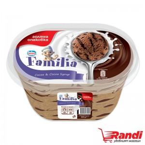 Сладолед Фамилия какао с какаов сироп Nestle 505гр.