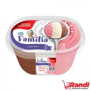 Сладолед Фамилия Neapolitana Nestle 505гр.