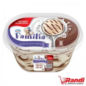 Сладолед Фамилия ванилия с какао Nestle 505гр.