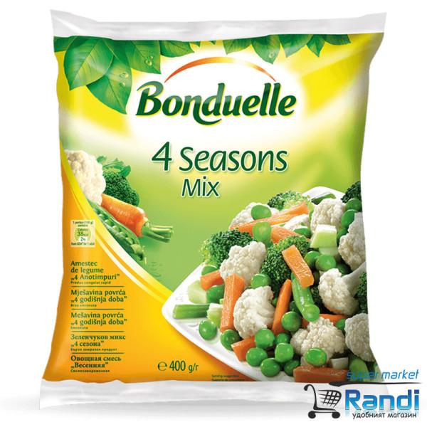 Четири сезона микс замразен Bonduelle 400гр.