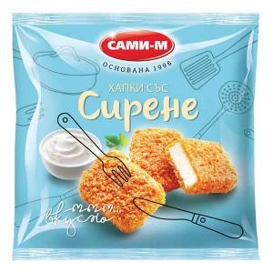 Панирани хапки със сирене замразени Сами-М 400гр.