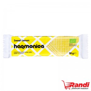 Био вафла Harmonica Лимон 30гр.