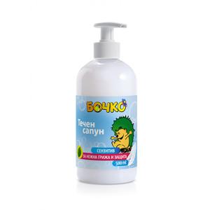 Течен сапун Бочко сензитив 500мл.