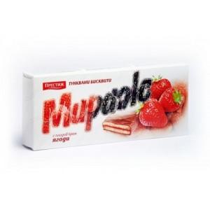 Бисквити Мираж ягода Престиж 200гр.