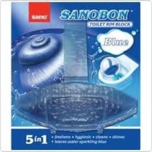 "WC блокче ""Sanobon"" синя вода 55гр."