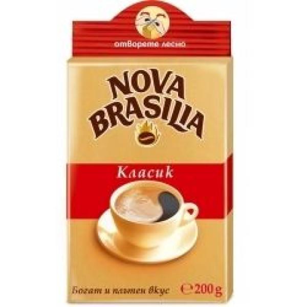 Кафе Нова Бразилия класик 200гр.