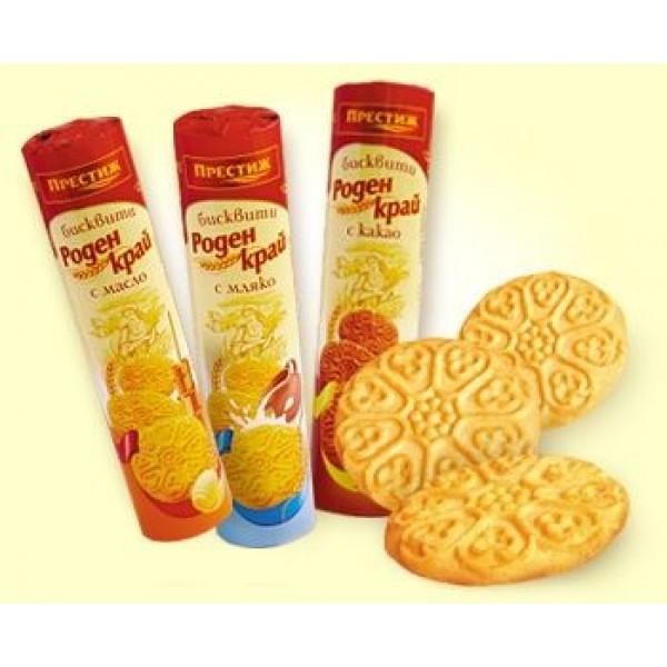 Бисквити Роден Край с мляко 150гр.