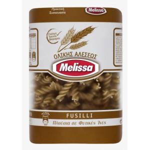 "Пълнозърнести макарони фусили ""Melissa"" 500гр."