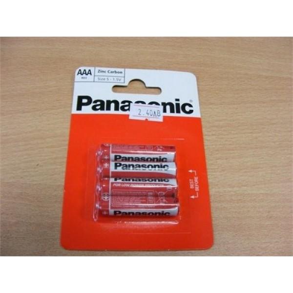 """Батерии """"Panasonic"""" ААА 4бр."""