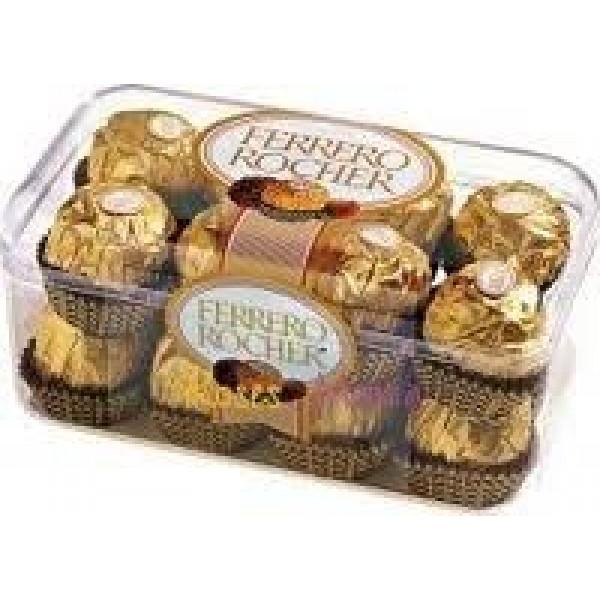 """Бонбони """"Ferrero Rocher"""" 200гр. 16бр."""
