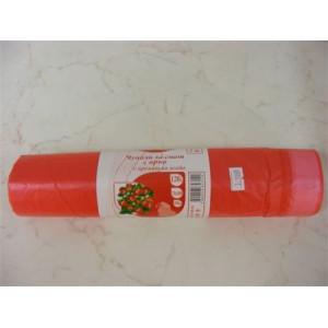 Чували за смет с връв с аромат на ягода 35л. 15бр.