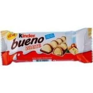 "шоколадов десерт ""Kinder bueno"" white 43гр."