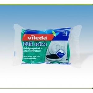"""Гъба за тефлон """"Vileda pur Active"""" 2бр."""