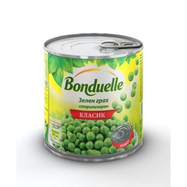 """Зелен грах """"Bonduelle"""" 425мл. консерва"""