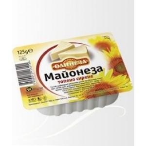 """Майонеза топено сирене """"Олинеза"""" 125гр."""
