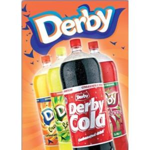 Дерби  Кола - Газирана безалкохолна напитка 3л.