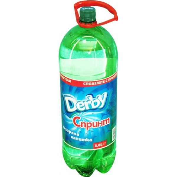 Дерби Спринт - Газирана безалкохолна напитка 3л.