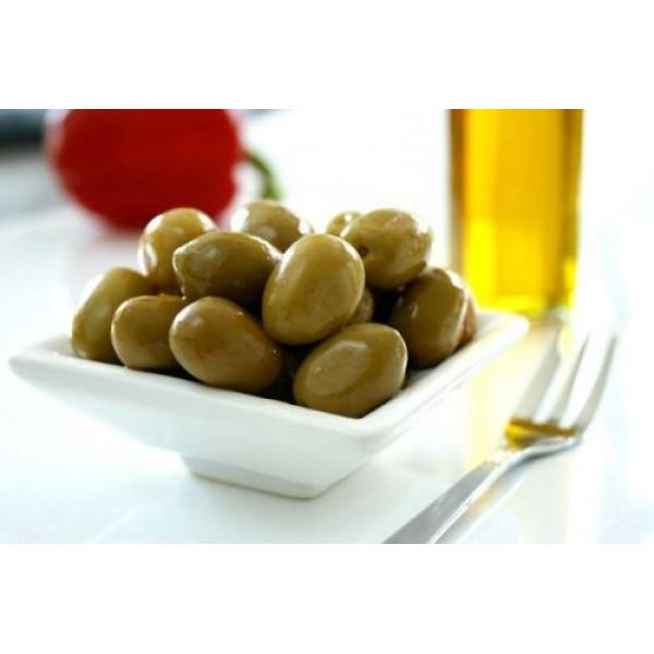 """Зелени маслини без костилка 8.60лв.\кг. """"Сириус"""" - цената е за 200гр."""