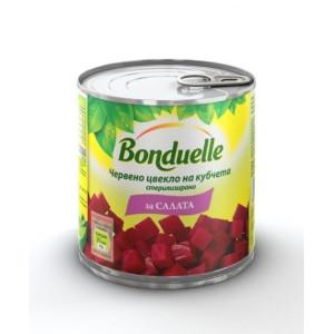 "Червено цвекло на кубчета ""Bonduelle""  400гр."