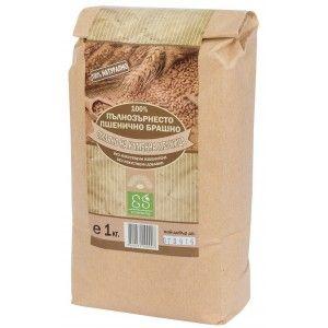 """Пълнозърнесто пшенично брашно 100% """"Екосем България"""" 1кг."""