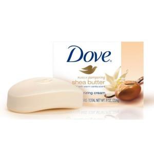 Сапун Dove shea butter 100гр.