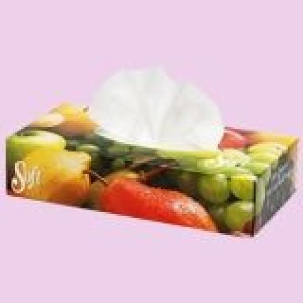 Кърпи за лице цветя Soft 100бр.
