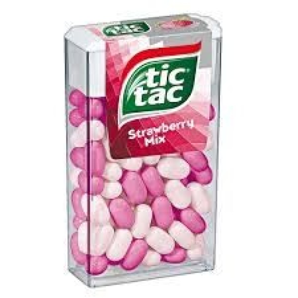 Tic-Tac strawberry mix