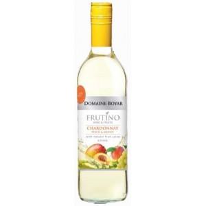 Бяло вино Domaine Boyar  Frutino Chardonnay Peach & Mango 750мл.
