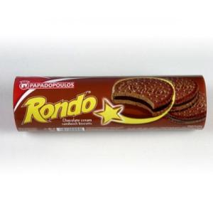 "Бисквити ""Rondo"" двоен шоколад 250гр."