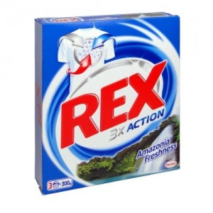 Прах за пране REX бяло 260гр.