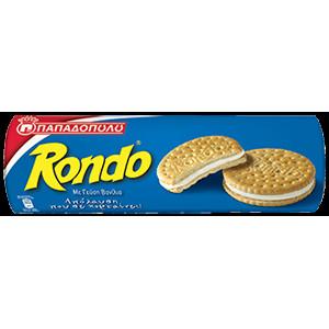 "Бисквити ""Rondo"" ванилия 250гр."