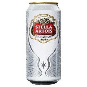 Бира Stella Artois кен 500мл.