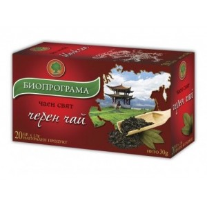 "Чай Черен ""Биопрограма"" 20бр."