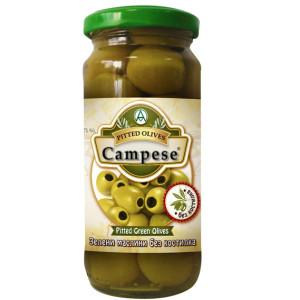 Зелени маслини без костилка Campese 235гр.