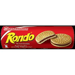 """Бисквити """"Rondo"""" шоколад 250гр."""