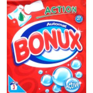 Прах за пране Bonux activ (за бяло пране) 300гр.