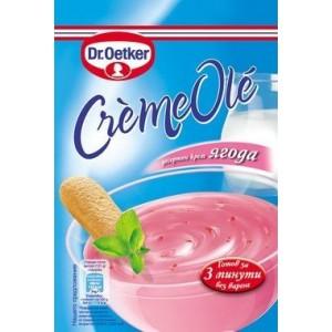 "Десертен крем ягода Ole ""Dr. Oetker"" 75гр."