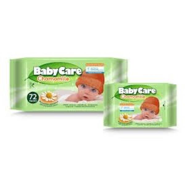 Мокри кърпички BabyCare chamomile 12бр.