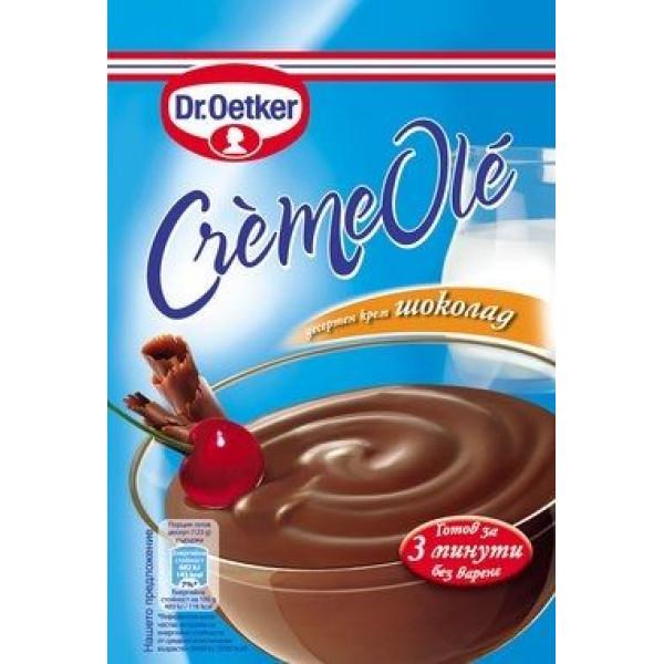"Десертен крем шоколад Ole ""Dr. Oetker"" 84гр."