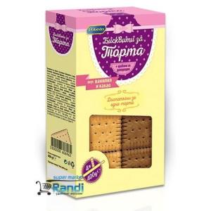 """Бисквити за торта Ванилия и Какао """" Победа"""" 400гр."""