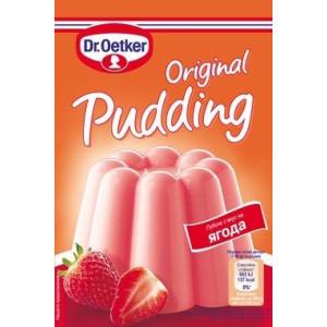 Пудинг ягода Dr. Oetker 40гр.