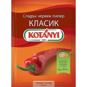 Червен пипер класик Kotanyi 40гр.