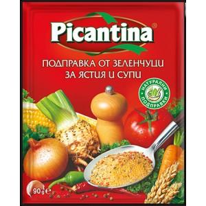 Подправка от зеленчуци за ястия и супи Picantina 90гр.
