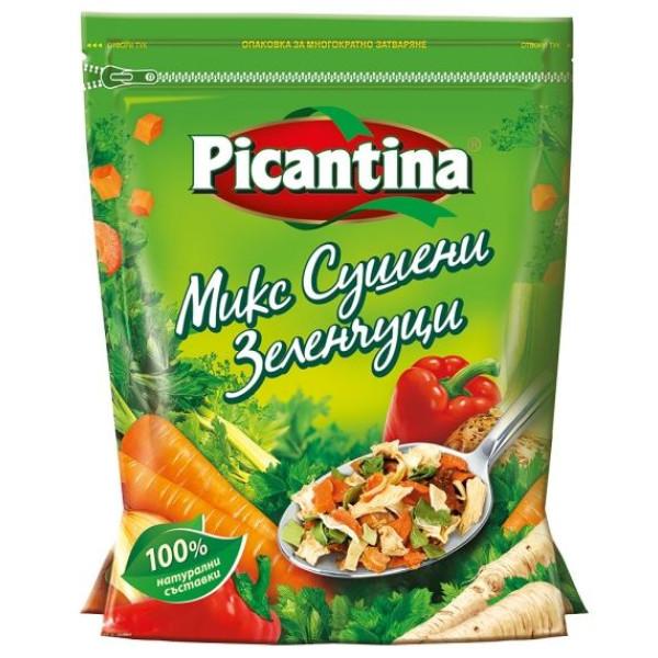 Микс сушени зеленчуци Picantina 100гр.