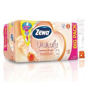Тоалетна хартия Zewa Deluxe Cashmere Peach 16бр.