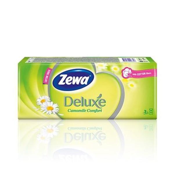 Носни кърпички Zewa Deluxe Camomile Comfort 10бр.