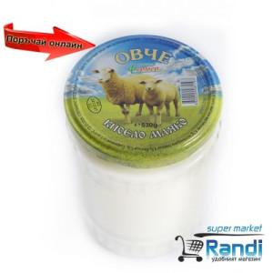 Овче кисело мляко мандра Фермер 530гр. в стъклен буркан